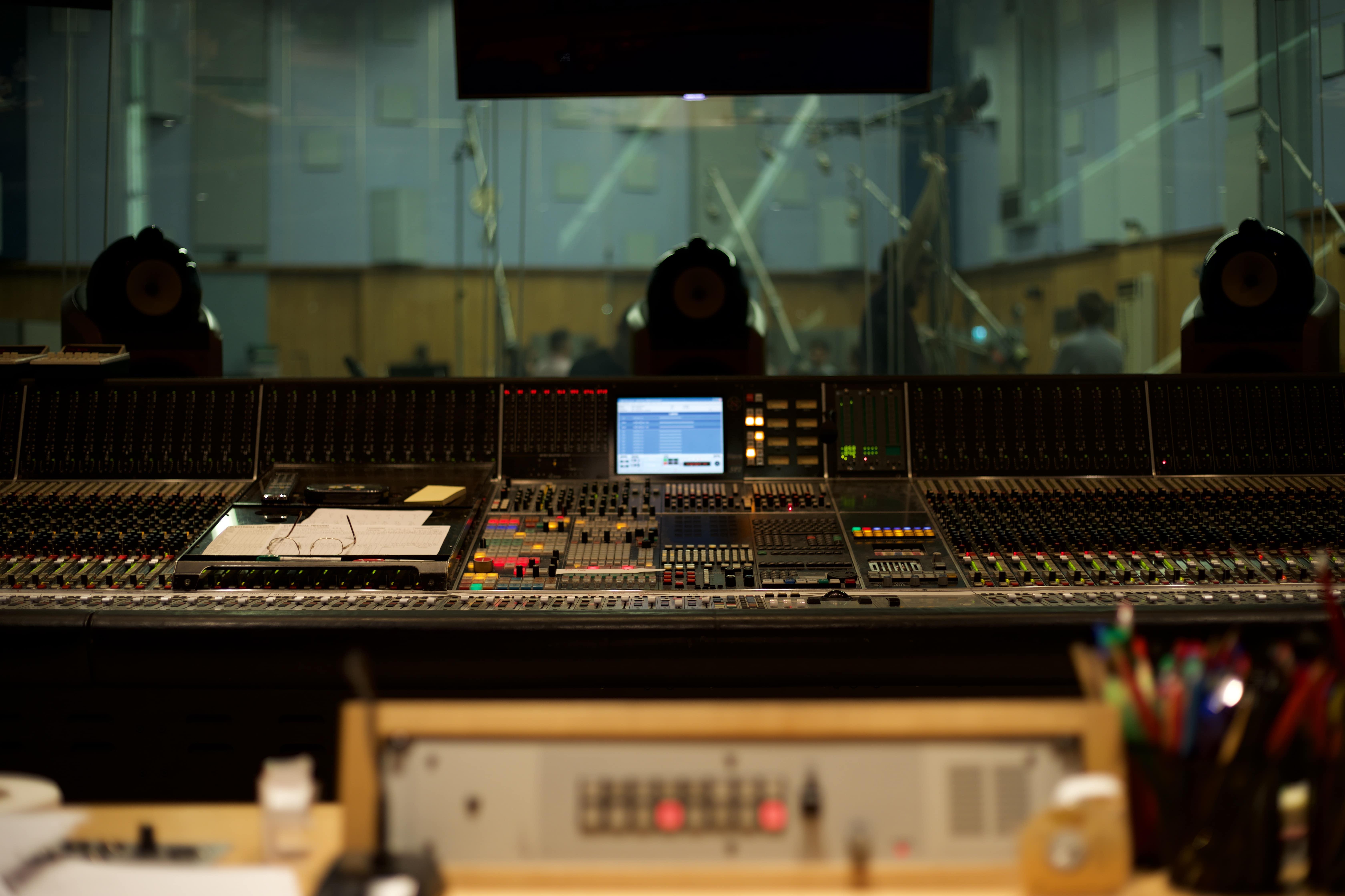 Control room Studio One