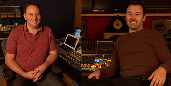 Andrew Dudman & Paul Pritchard, Abbey Road Studios Engineers