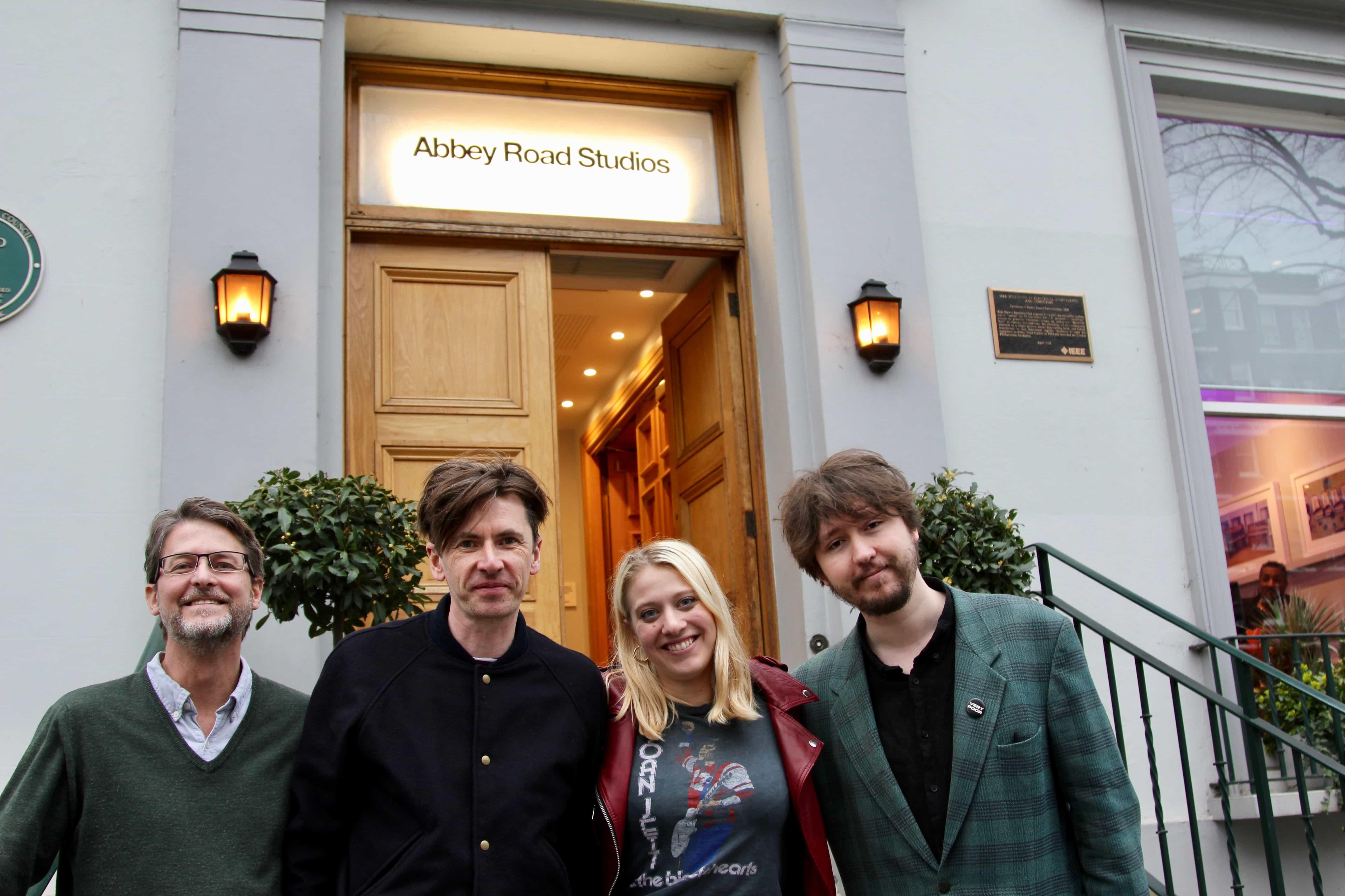 Bernard Butler at Abbey Road Institute